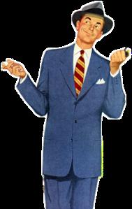 man 1950s