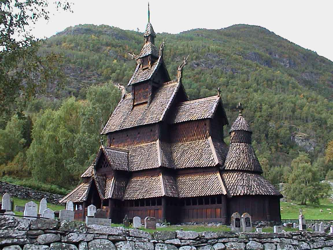 Some Thoughts On The Norwegian Stave Church And Thor
