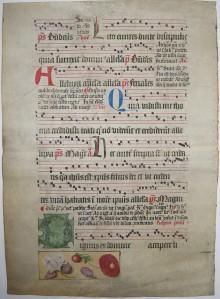 Carthusian choir manuscript